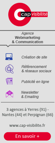 Cap Visibilité : agence communication Paris Nantes Perpignan