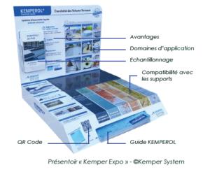 Relation clients et PLV : Kemper System simplifie son offre d'étanchéité