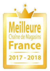 L'enseigne Brico Dépôt remporte le prix «Meilleure Chaîne de Magasins» de l'année 2017-2018 en France dans la catégorie «Bricolage «