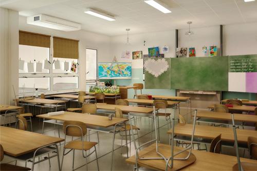Salle de Classe Ventilation
